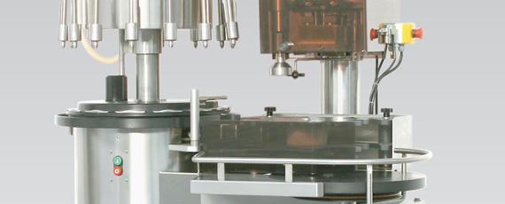 Grupo de embotellado automático portátil Fiamat 2000 hasta 1800 botellas/hora