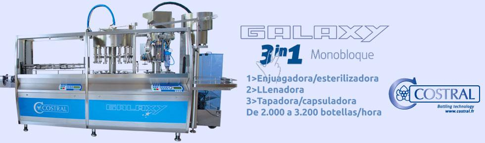 Galaxy 3200 - 3 en 1 - Monobloque - Costral